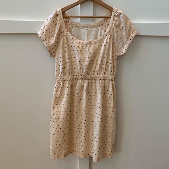 J. Crew Dresses & Skirts - j crew tea stained polka dot dress